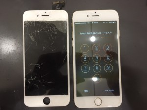 iphone6 screen borken 190619