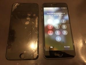 アイフォーン7画面交換の画像