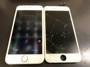 液晶画面交換修理 iPhone6s