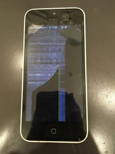 iPhone液晶破損