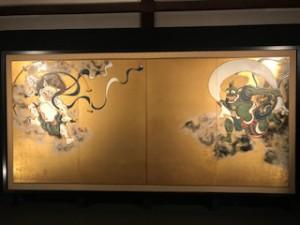建仁寺 風神雷神の屏風