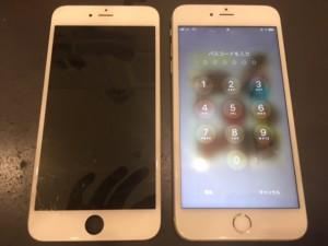 iPhone6と液晶不良のパネル