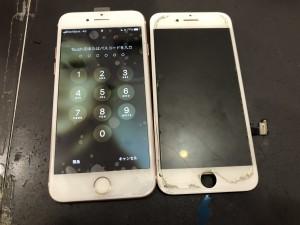 iPhone7 画面修理の写真