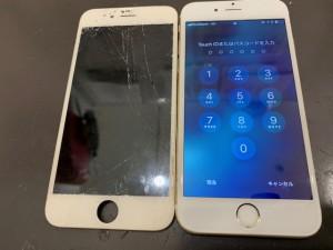 iPhone6s液晶画面リペア