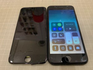 iPhone7がめんしゅうり