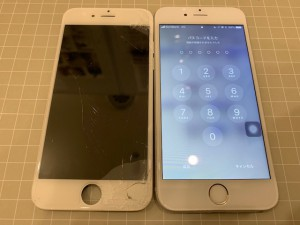 iPhone 6画面 修理