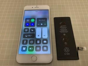 iPhone7 電池交換