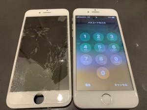 iPhone6+画面修理