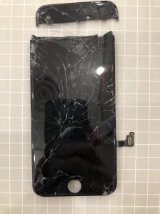iPhone7 bakibaki 画面