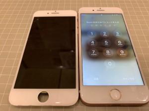iPhoneリペア写真
