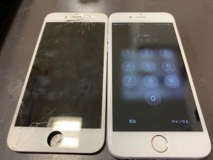アイフォン6 修理写真