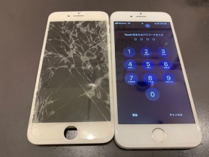iPhone8 修理写真