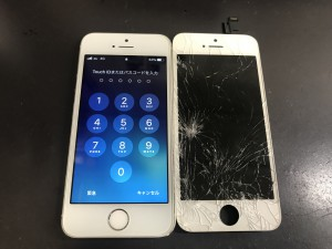 iPhoneSE 画面修理