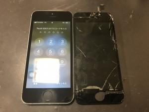 iPhone5s 画面修理