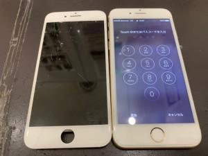 iPhone画面修理