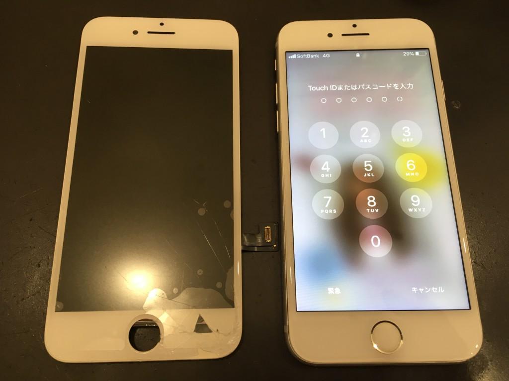 iPhone修理写真