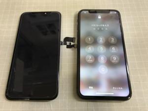 iphoneX タッチ操作不可