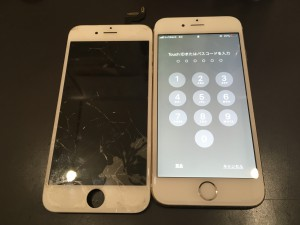 iPhone6画面修理