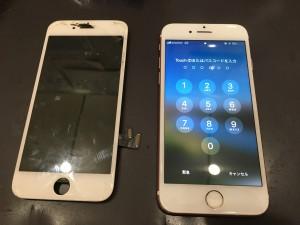iphone7 液晶表示異常