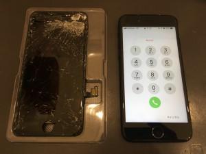 IPHONE8 重度破損