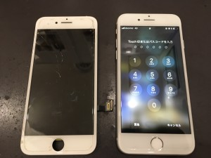 iPhone8 液晶破損