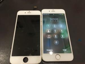 iPhone6 表示不良