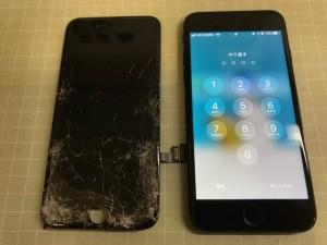 iphone7 重度破損