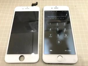 iphone6S 表示異常