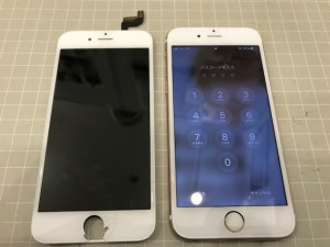 iphone6s 画面破損