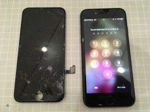 iPhone7の修理