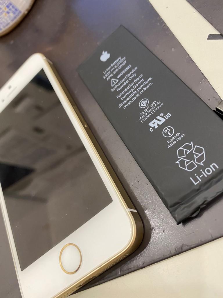 アイフォーン7バッテリー交換
