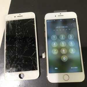 iPhone7 画面液晶修理