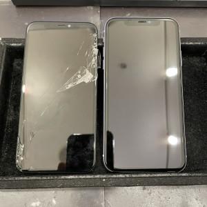 iPhone11 画面交換完了