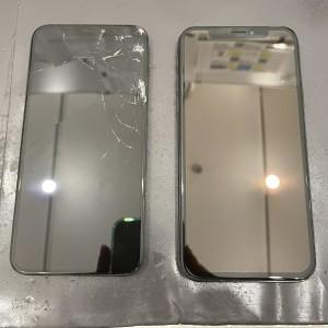 iPhone Xs 画面割れ修理 京都駅前iPhone修理店