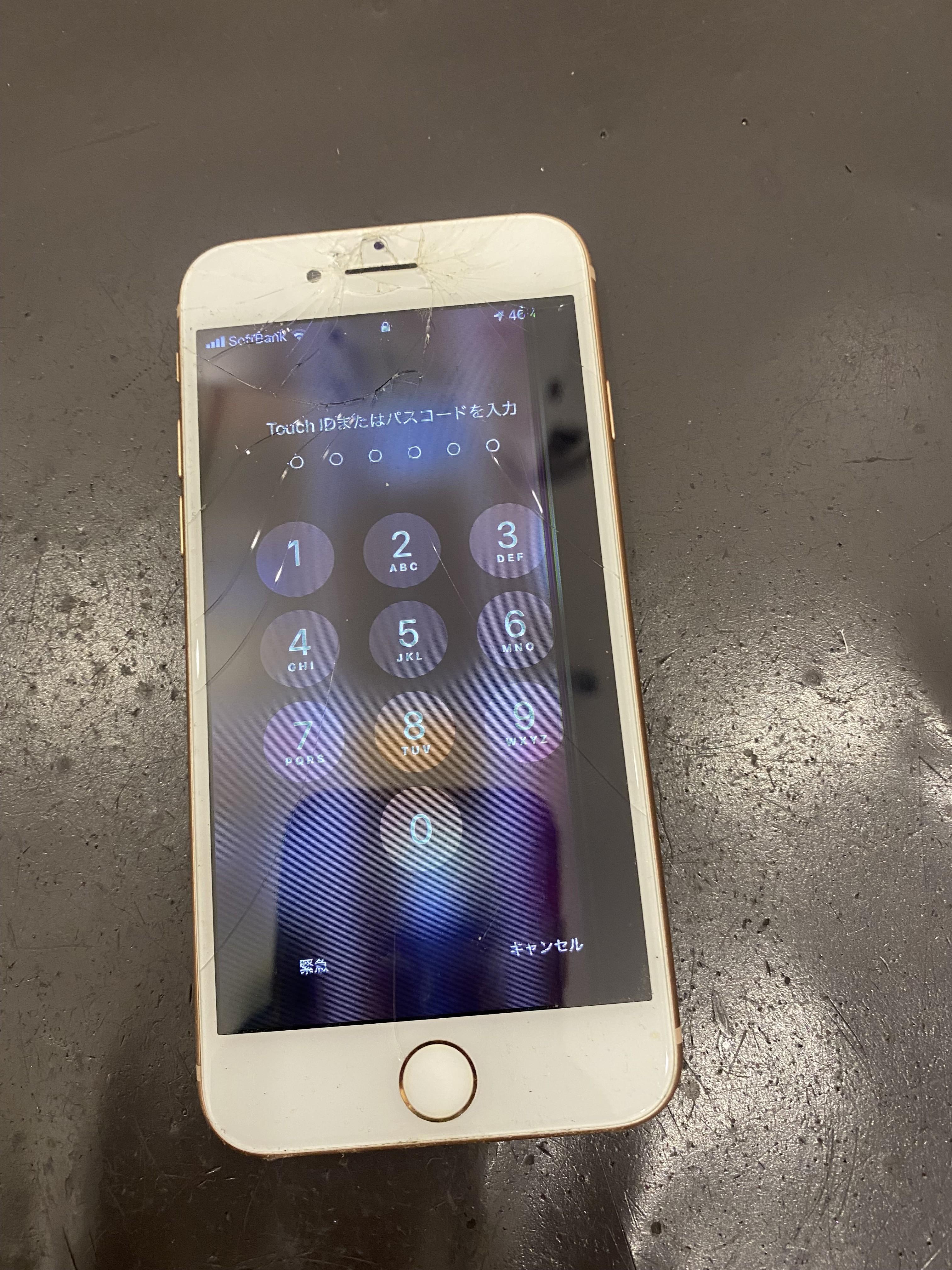 アイフォン8 画面液晶