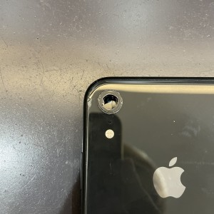 iPhoneXR カメラレンズ割れ レンズ交換 京都駅前最安値