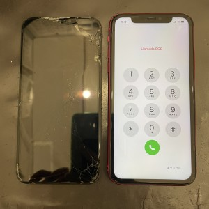 iPhone11 画面修理 データそのまま 京都駅直結
