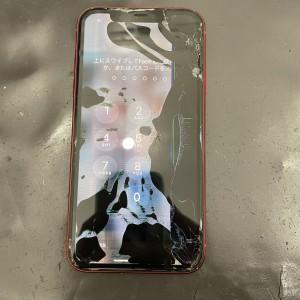 iPhone11 液晶漏れ 画面修理 京都駅前