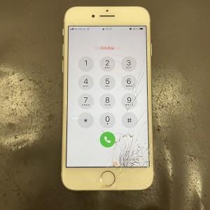 iPhone8 画面修理 京都駅前最安値