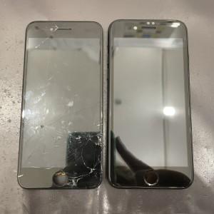 iPhoneSE2 画面修理 京都駅前 即日修理