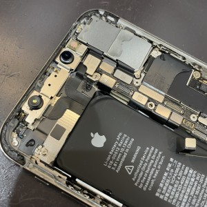 iPhoneXs 水没 iPhone水没修理 京都駅前