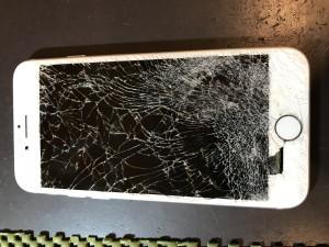 iPhone7画面破損